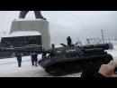 Парад к 100 летию РККА в Североморске 24 февраля 2018 год. часть 2