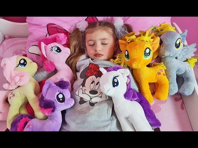 Are you sleeping brother John Five Little Babies Jumping On The Bed My Little Pony for kids