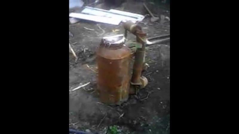 бензогенератор на древесном угле