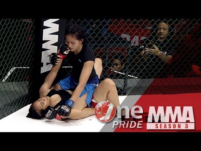 [HD] One Pride MMA 3: Vita Nopanti VS Inandiya Citra - Woman Strawweight Tournament Fight