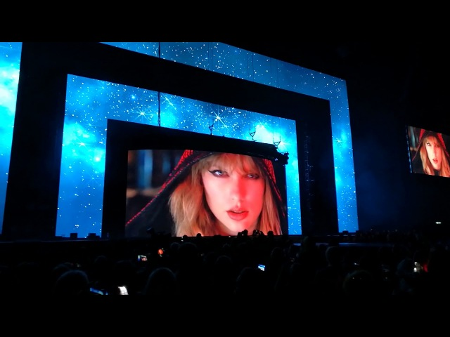 Capitals Jingle Bell Ball 2017 Opening with Taylor Swift