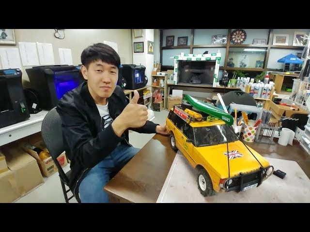 [ JKRC ] 3D Rc Body Accessories Factory [ 3D 프린터 Rc 바디와 악세서리를 만드는 JKRC 방문기 ] [4X4 OFF ROAD TRAIL]