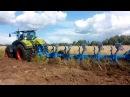 CLAAS AXION 950 на вспашке залежных земель плугом LEMKEN DIAMANT 11 71