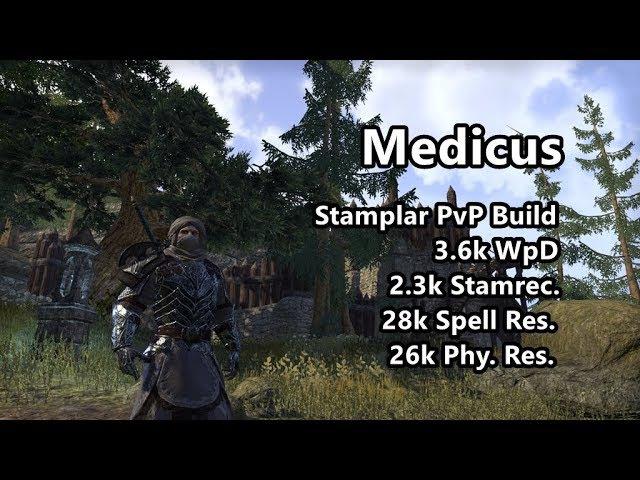 'Medicus' | Stamplar PvP Build | ESO Clockwork City