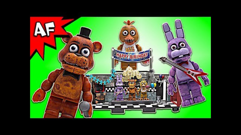 Five Nights at Freddy's The SHOW STAGE Speed Build - FNAF McFarlane Toys LEGO compatible set