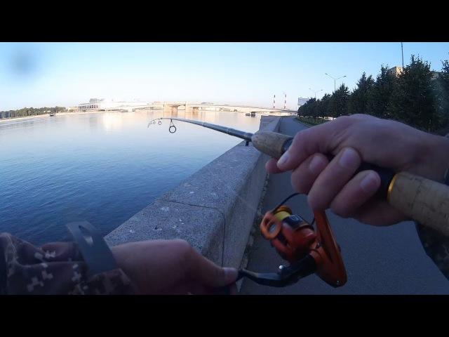 Рыбалка на спиннинг в Неве 24 09 2017