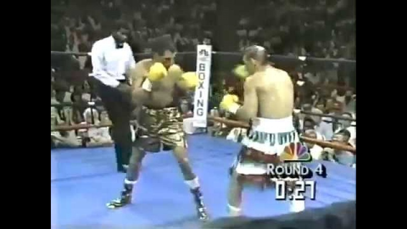 Тони Лопез - Джордж Паец / Jorge Paez vs Tony Lopez 22-09-1990