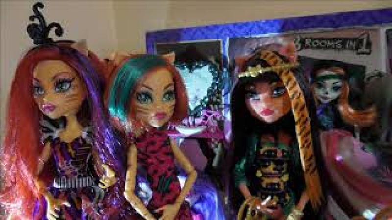 Фотообзор на куклу Монстер Хай Торалей