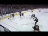 Sharks Burns rips one timer for first goal of NHL season