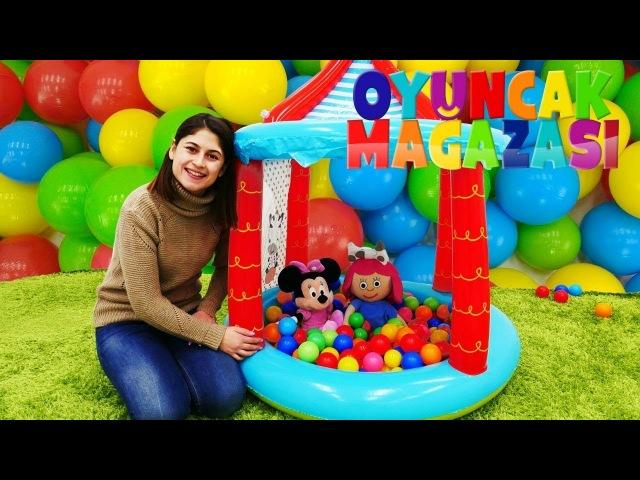 Ayşe'nin oyuncak mağazası - Sirk top havuzu!