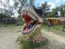 Прогулка в Динопарк древние чудовище динозавры Анапа DinoPark