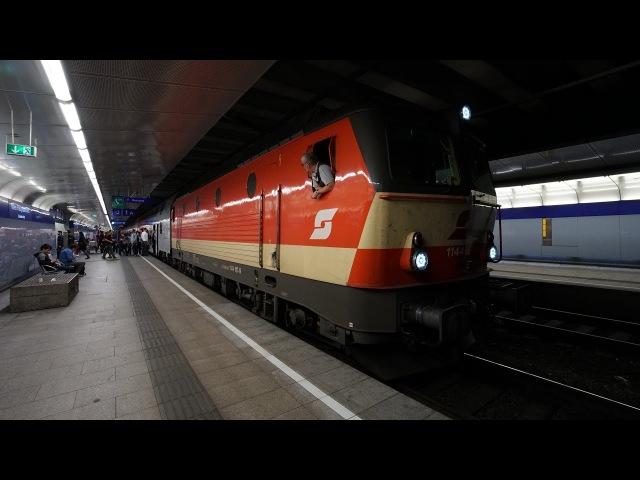 ÖBB 1144 117 am R 2251 | Wien Hbf (Gleise 1 - 2) [4k]