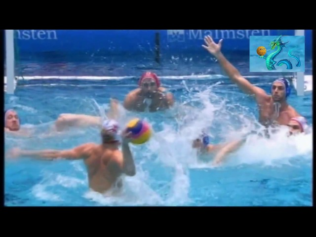 Water polo Удар по воротам 98