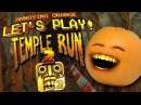 Annoying Orange Let's Play Temple Run 2!