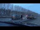 Серьезное ДТП произошло на трассе Кемерово Ленинск Кузнецкий VSE42 Ru