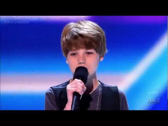 X Factor 2012 Audition - Reed Deming Grenade X Factor USA S2