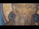 Древние фрески Новгорода. Церковь Симео́на Богоприи́мца Зверина монастыря.