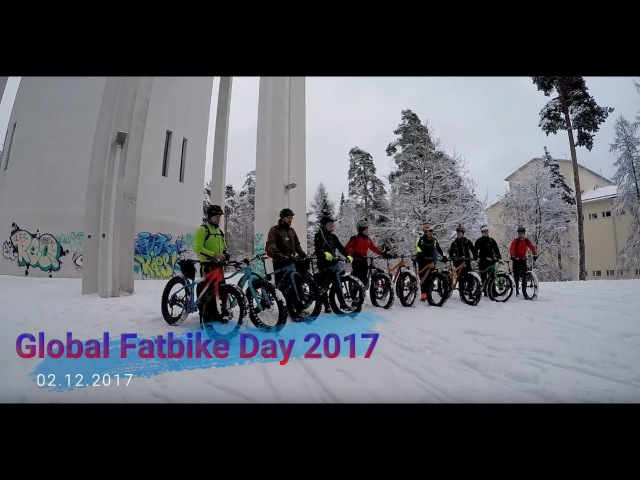 Global Fatbike Day 02.12.2017 Lappeenranta Finland - Gopro hero4
