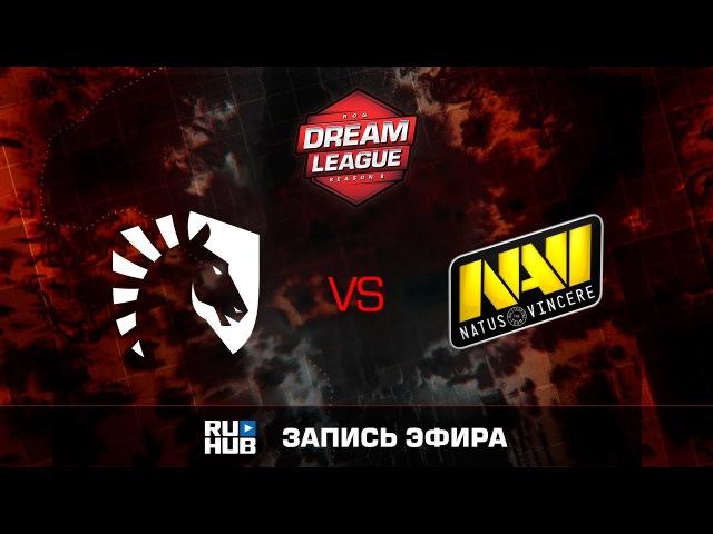 NewBee vs Natus Vincere - Game 1, Loser Bracket - DreamLeague Season 8 2017