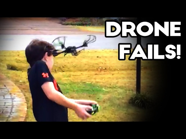 EPIC DRONE FAILS! November 2017 | Funny Drone and Quadcopter Crashes Caught on Camera!