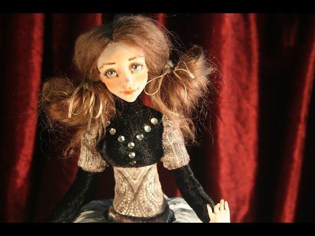 Мастер-класс Когда кукла оживает. Елена Белова