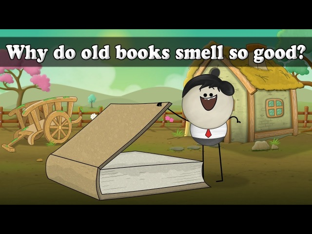 Why do old books smell so good? | Smart Learning for All