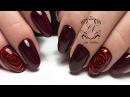3D цветок на ноготках КЛИЕНТА СЛОЖНЫЕ руки ЭФФЕКТНЫЙ дизайн ногтей