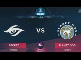 Secret vs Planet Dog RU (bo1) ESL One Genting 2018 Minor 23.01.2018