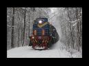 Зимняя сказка В главной роли ТЭМ2 2660 Перегон Заводская пост 2 км Лыткаринского ППЖТ