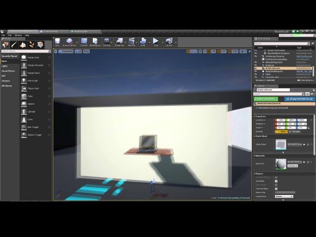 Урок: экспорт модели в Unreal Engine 4. Часть 2.