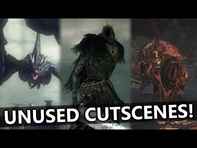 The Unused Cutscenes of Demons Souls, Dark Souls 2 3 (Never-Before-Seen)