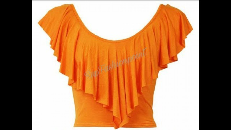 Freel Crop Top Cutting and Stitching