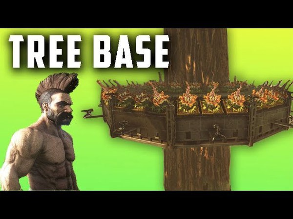 Ark - The INVINCIBLE Tree-Base for PvP [Tutorial]
