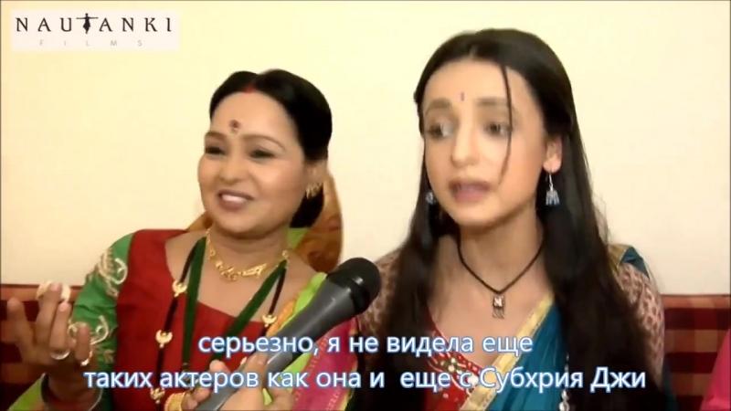 Поздравления актрис quot-Цвета страстиquot- с женским днем (720)