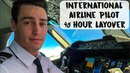 INTERNATIONAL AIRLINE PILOT 48 HOUR LAYOVER | USA - VLOG #58