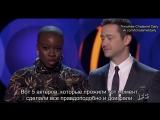Кинопремия «Независимый дух»: Данай Гурира и Джозеф Гордон-Левитт объявляют победителя в номинации «Лучший актёр»