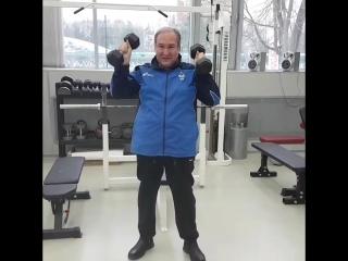 Подготовка к дебюту в любительском спорте. Гантели 6+6. Ч.7