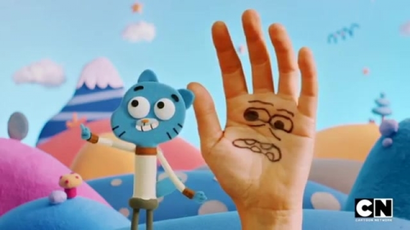Don't Hug me i'm Scared in Gumball's universe