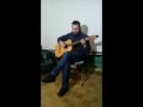 Артем Франич с гитарой