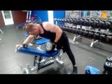Отличное упражнения для широчайших вес 47.5 кг
