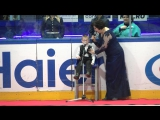 Гимн России на матче Сибири от особенного юного болельщика!