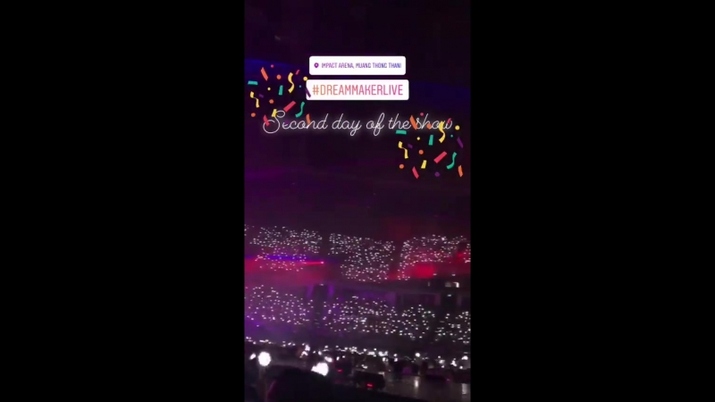 180317 dreammakerlive_official Insta Storu: EXO <Ko Ko Bop> EXO PLANET 4 - The EℓyXiOn in BANGKOK