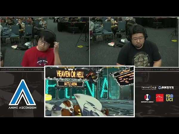 Anime Ascension 2018 Guilty Gear XRD Rev 2 Top 8