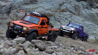 Killerbody 1/10 Toyota Land Cruiser LC70 #4 Rescue mission