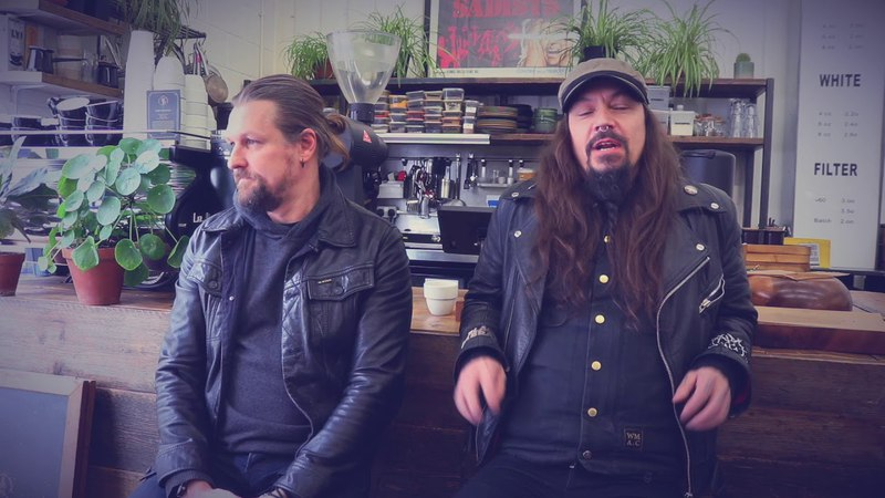 AMORPHIS - Esa and Tomi discuss their love of motorbikes (EXCLUSIVE TRAILER)