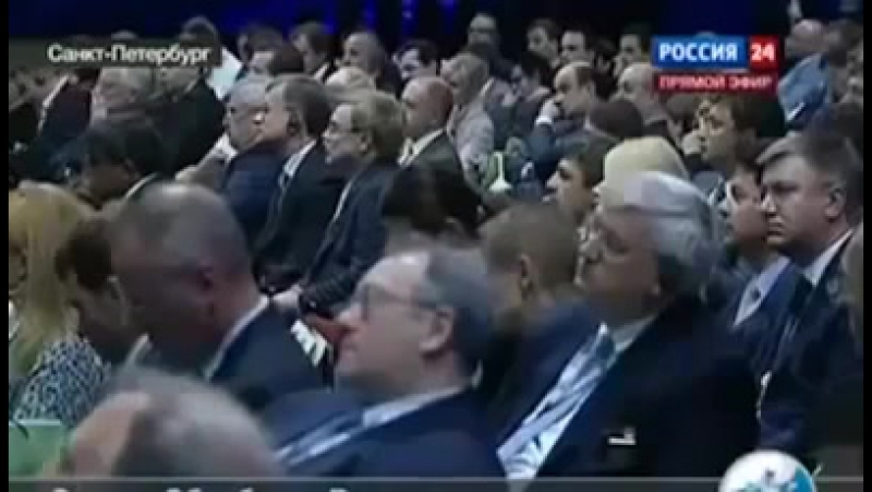 Петербуржский экономический форум Герман Греф