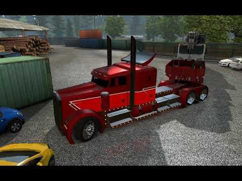 [ETS2]Euro Truck Simulator 2 Kenworth Phantom v 2.0 [1.30.x]