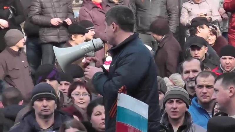 Краматорск.1 марта,2014.Русвесна (KRM news)