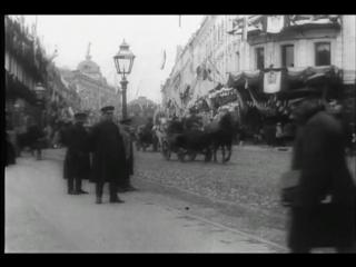 Москва. тверская улица в конце 19 века. 1896 год - moscow. tverskaya street 19th century.