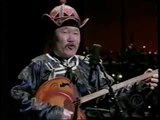 Kongar-ool Ondar at David Letterman show (throat singing)